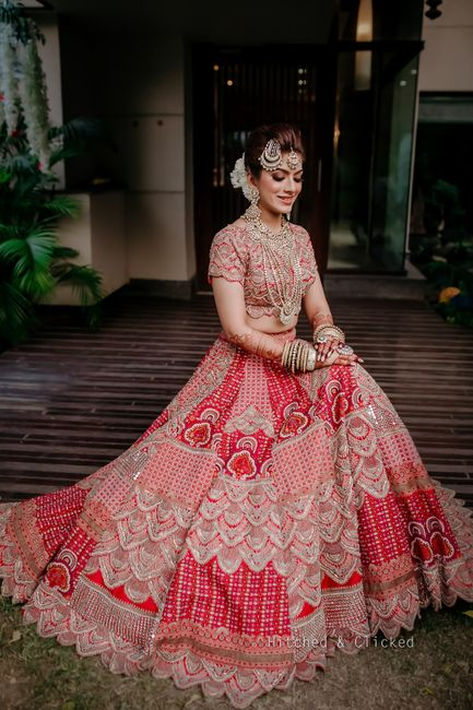 Elegant Wedding With Stunning Jewellery And A Unique Bridal Lehenga