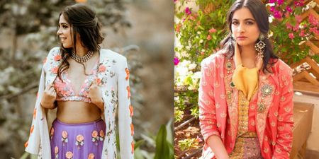 #Trending: Lehengas With Blazers Is A New Rage & Just In Time For Winter Weddings Of 2020