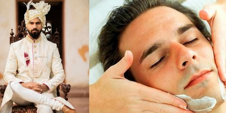 Pre-wedding Facial For Grooms? Yes! Here's Why You Must Try Them