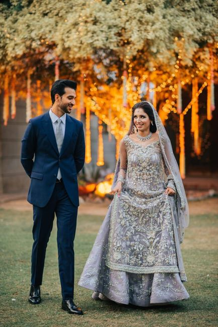 Gorgeous Wedding Of A Cricket Presenter In The Most Stunning Bridal Outfits