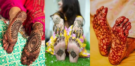 Is Mehendi On The Sole A New Thing? Spotted Real Brides Who Got It Done!