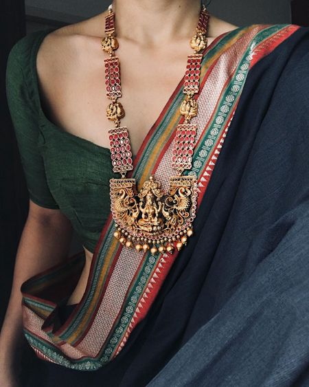 Temple Jewellery Rani Haars That Are Trending!