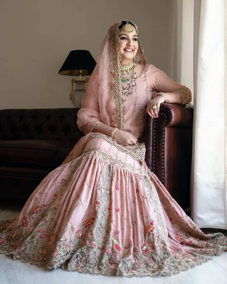 25 Different Shades Of Pink We Spotted In Bridal Lehengas!