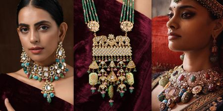 Trending: Multicoloured Chunky Jewellery For The New-Age Brides!