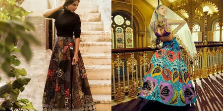 Patchwork Lehengas Are In & Here's Where To Get Them!