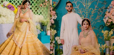 Gorgeous Wedding With Breathtaking Bridal Outfits