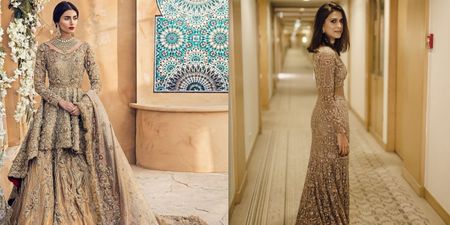 #Spotted - Brides Who Wore Breathtaking Gold Outfits