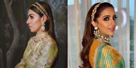 8+ Brides Who Wore A Hairband!
