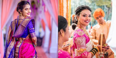 10+ Maharashtrian Bridal Looks That Gave Us A Run For Our Money!