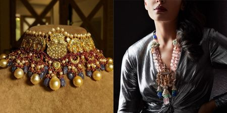#Trending - Jewellers Are Doing Traditional Gold With Modern Stones & It's Stunning!