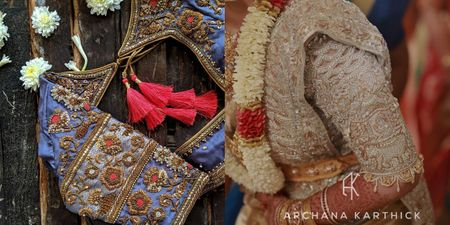 Real Brides Reveal: Where To Get A South Indian Bridal Blouse Stitched!