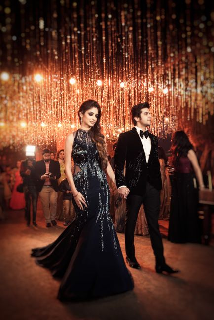 A Glam Delhi Engagement With The Bride In A Royal Gown