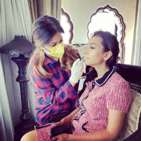 Here's How Bridal Makeup Artists Are Tackling Coronavirus Concerns