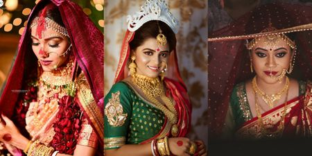 These Bengali Bridal Portraits Have Our Hearts!