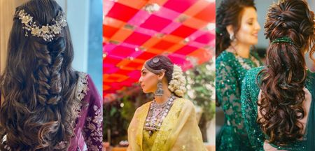 Hair Jewellery & Accessory Ideas Perfect For Your Sangeet Or Cocktail!