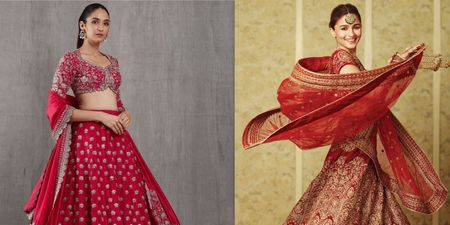 Bridal Lehengas In Red We Can't Get Over