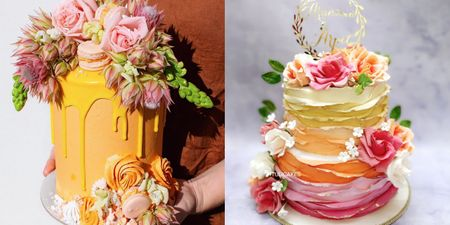 15+ Engagement Cakes Almost Too Pretty To Eat