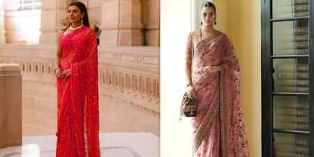 Sheer Sarees For Summer Wedding Season Are An Instant Hit!