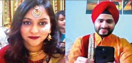 This Couple Had A Wedding On Video Call! #CoronavirusLockdown