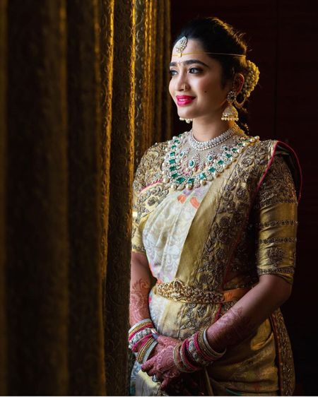 Embellished Bordered Kanjeevarams Are Here To Stay