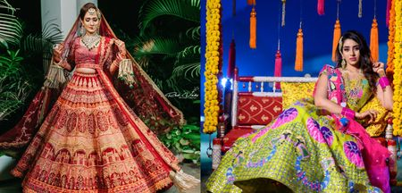 10 Best Places Where You Find Bridal Lehenga On Rent In Delhi!
