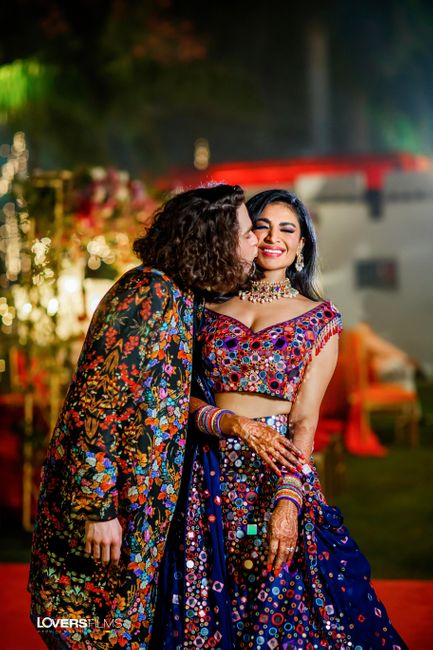 Elegant Delhi Wedding With The Most Unique Bridal Outfits