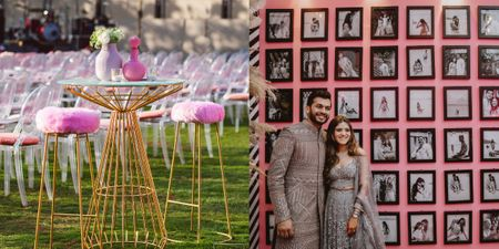 This 'Millennial Sangeet' Had Decor Like You've Never Seen Before!
