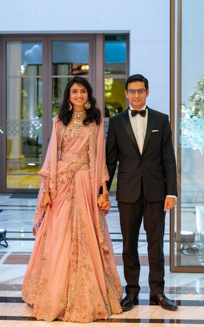 An Elegant Kolkata Wedding With The Bride In A Ravishing Engagement Lehenga