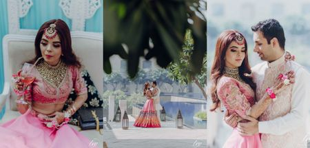 Beautiful Delhi Wedding With A Stunning Bridal Outfit