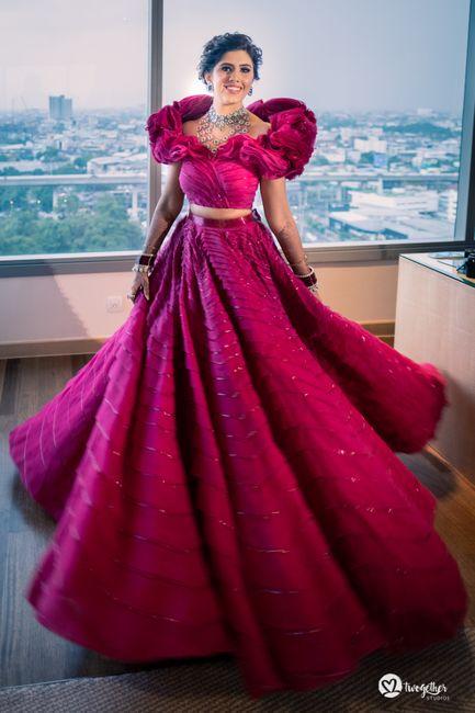 An Elegant Wedding With Customised Bridal Outfits & A Powder Blue Bridal Saree