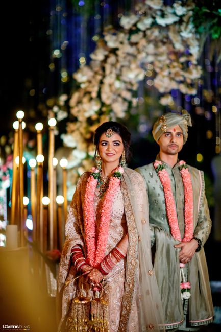 Delhi Wedding With The Bride In A Lehenga Designed By Her Mother