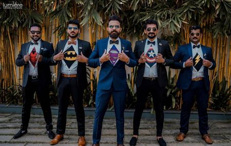 Here's How Groomsmen Can Coordinate With Minimal Effort!