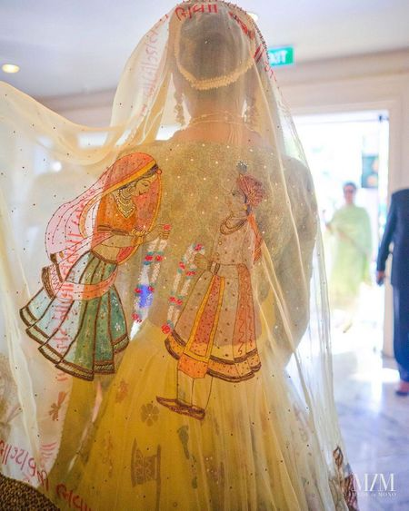 This Unique Handpainted Dupatta Is Nothing Like You've Seen Before!