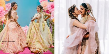 Adorable Photos Of Brides & Their Sisters Prove That There's No Love Like Theirs!