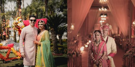 A Modern Delhi Wedding For Childhood Sweethearts Who Tweaked Traditions!