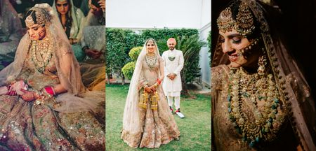 Gorgeous Delhi Anand Karaj With Awe-Inspiring Bridal Outfits