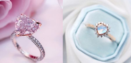 The Most Amazing Heart Solitaire Engagement Rings Which Stole Our Hearts!