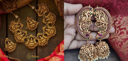 10+ Insta Stores To Buy The Most Gorgeous Imitation Temple Jewellery At!