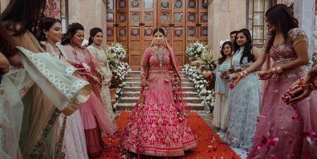 "#FirstPerson - ""How I Planned A Bridal Entry Like Anushka Sharma"""