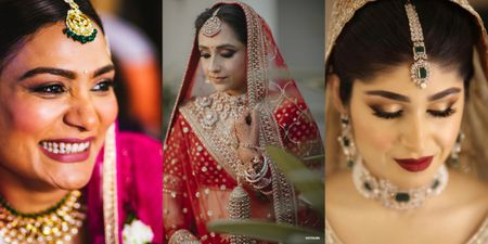 15+ Brides Who Did Not Opt For A 'Red Lipstick' For Their Wedding