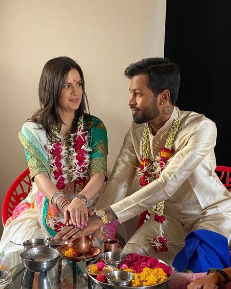 Indian Cricketer Hardik Pandya Had A Lowkey Lockdown Wedding