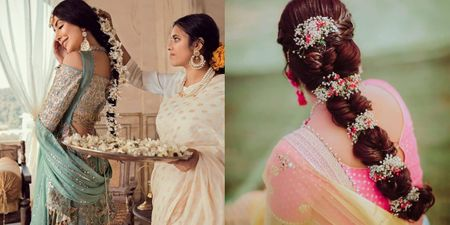 Gorgeous New Floral Braids That Are Perfect For The Mehendi
