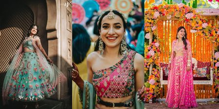 5 Mehendi Looks On Real Brides That We Absolutely Adored!