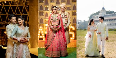A Glam Kolkata Wedding Planned By The Couple Themselves!