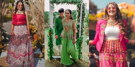 10 Mehendi Looks On Real Brides That We Absolutely Adored!