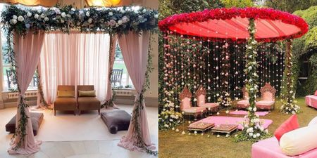 Stage Backdrops & Mandap Alternatives For An Intimate Wedding