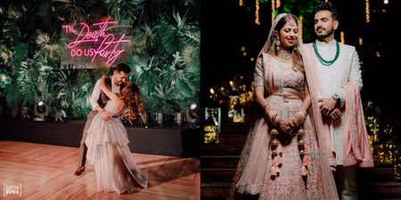 Gorgeous Goa Wedding With A Magical Bridal Entry & Pin-Worthy Decor!