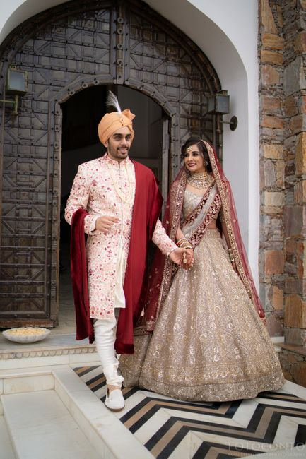 This Udaipur Wedding Was High On Style Quotient!