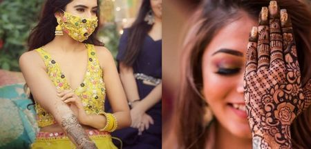 Tips And Tricks To Have A Safe Mehndi Function For Intimate Weddings!