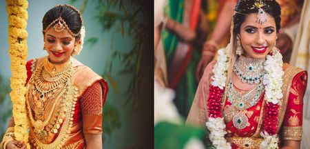 Jewelry styles For A South Indian Bride